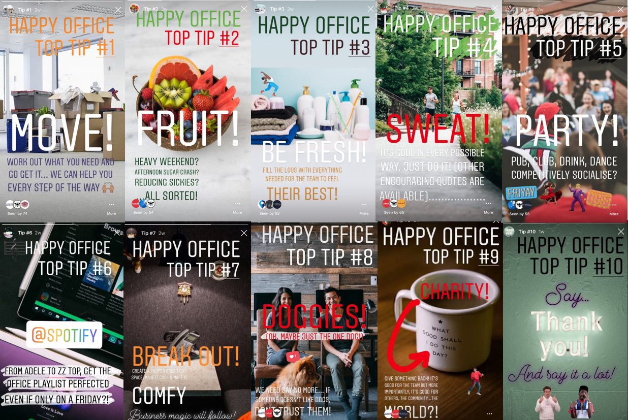 Top 10 Tips For A Happy Office